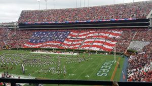 On Football Saturday and Being American