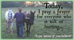 A Prayer For The Sick Or Hurting