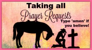 Taking All Prayer Requests