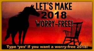 Let's Make 2018 Worry-Free