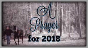 A Prayer For 2018